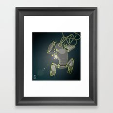Quantum magic Framed Art Print