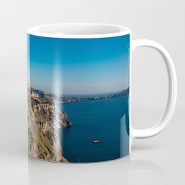 View of Thira, Santorini, Greece Coffee Mug