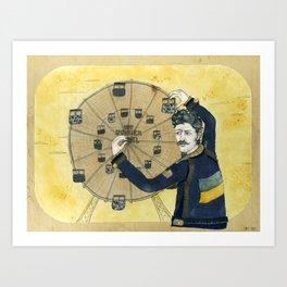 Immigrant Punk Eugene Hütz Art Print