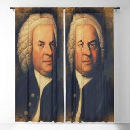 Johan Sebastian Bach, Music Legend Blackout Curtain