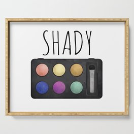 Shady Serving Tray