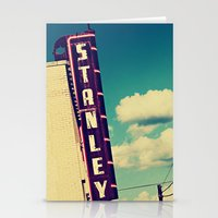 stanley kubrick Stationery Cards featuring Stanley by Trish Mistric