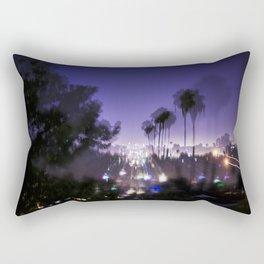 Chasing Light in Los Angeles Rectangular Pillow