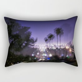 Chasing Light in Los Angeles Rectangular Pillow