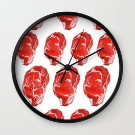 Meaty Wall Clock