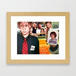 Geek Chic Framed Art Print