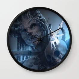 Tooth and Bone Wall Clock