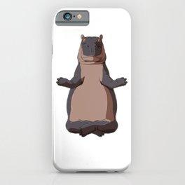 Medidate Hippo iPhone Case