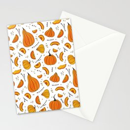 Rustic Country Autumn Fall Pumpkin Stationery Cards