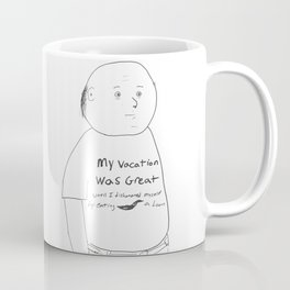 Dishonored Myself by Eating a Loon (character version) Coffee Mug