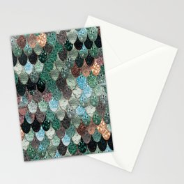 SUMMER MERMAID SEAWEED MIX by Monika Strigel Stationery Cards