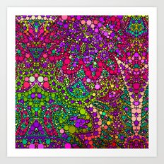 Love2Snap Flower Art Print