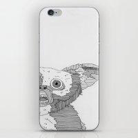 gizmo iPhone & iPod Skins featuring Gizmo / Mogwai. by Bundles of Film