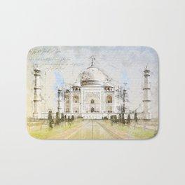 Taj Mahal, India Bath Mat