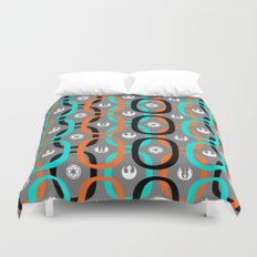 Star Wars Abstract Hoops Duvet Cover
