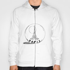paris in a glass ball Hoody