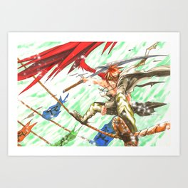 Freebird Art Print