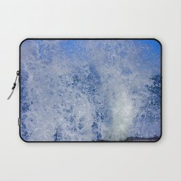 Lake Michigan Natural Fountains #3 (Chicago Waves Collection) Laptop Sleeve