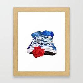 Chucks Framed Art Print
