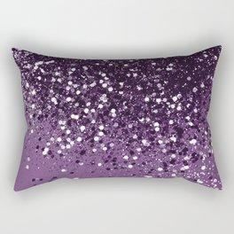 PURPLE Glitter Dream #1 #shiny #decor #art #society6 Rectangular Pillow