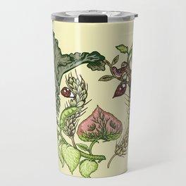 Botanical Pig Travel Mug