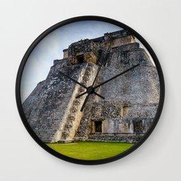 Uxmal Yucatan Mexico Wall Clock