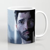 tyler spangler Mugs featuring tyler hoechlin by Finduilas