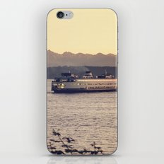 Puget Sound Ferry iPhone & iPod Skin