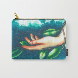 Hand study #3. Ivy Carry-All Pouch