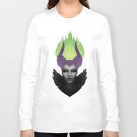 maleficent Long Sleeve T-shirts featuring Maleficent by clayscence