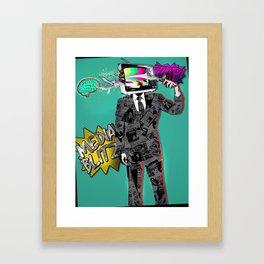 Media Blitz Framed Art Print