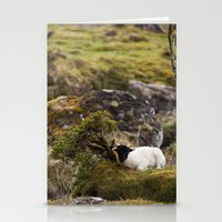 lamb Stationery Cards featuring Lamb by Aaron MacDougall
