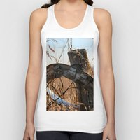 ufo Tank Tops featuring UFO by IowaShots