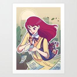 Lois Lane: Star Reporter Art Print