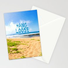 hang loose Stationery Cards