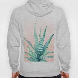 Desert Succulent Aloe Vera Hoody
