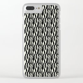 Zebra Clear iPhone Case