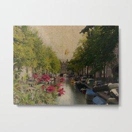 Amsterdam mon amour Metal Print