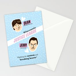 Dean Strang & Jerry Butin - Wisconsin Justice League Stationery Cards