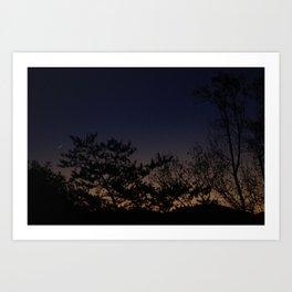 Moonrise No. 1  Art Print