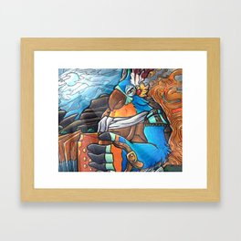 Kass- BOTW Framed Art Print