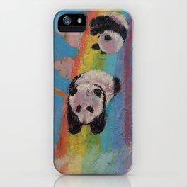 Panda Rainbow iPhone Case