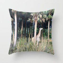 A Little Boy with Sass Throw Pillow