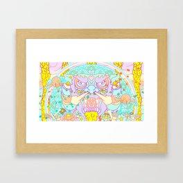 Between Heaven & Earth  Framed Art Print