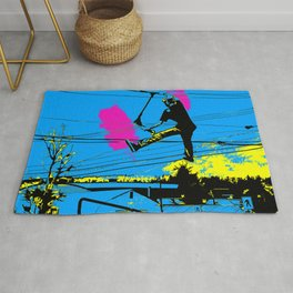 Tailgating - Stunt Scooter Tricks Rug
