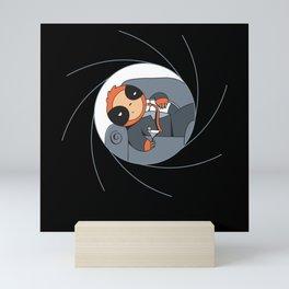 Spy Sloth in Suit T-Shirt Mini Art Print