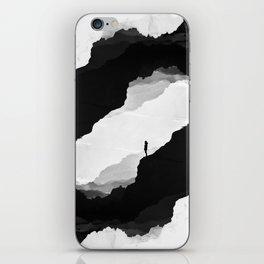 White Isolation iPhone Skin