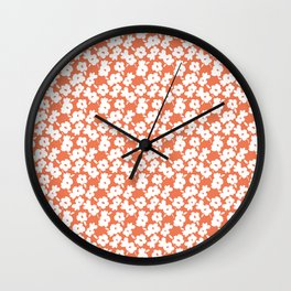 Spring Flower Wall Clock