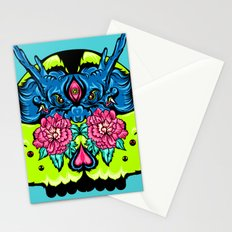 Dragon Skull Stationery Cards