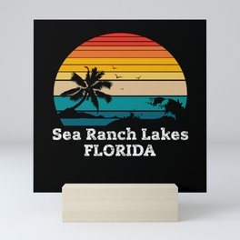 Sea Ranch Lakes FLORIDA Mini Art Print